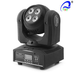 China Double Face 8PCS * 10W Mini Wash Led Moving Head Light Y-as Unlimited Rotation leverancier