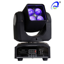 China 4 stuks 15W 4 In 1 Osram LED Moving Head Zoom LED Disco Light DMX512 AC100 - 240V leverancier