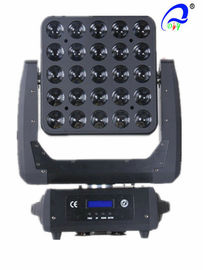 China CREE 4in1 LED Blinder Light 25PCS 10W Matrix LED Lighting Moving Head Stage Lights leverancier